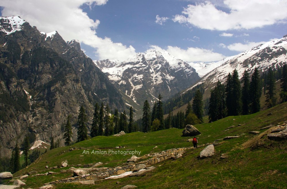 Trekking towards Pir Panjal Range