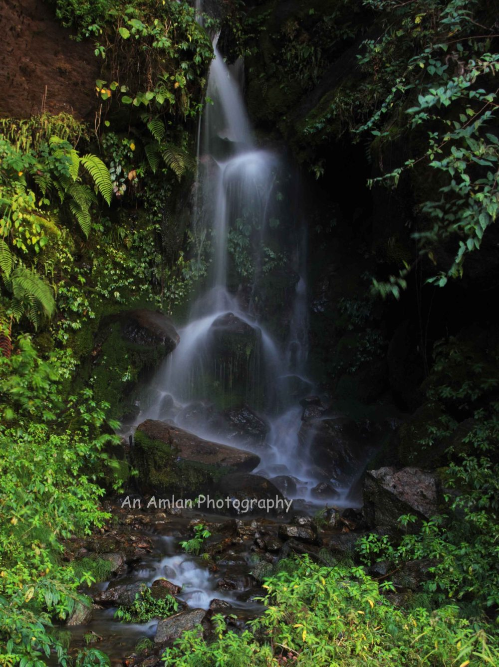 Unknown Waterfalls in Srikhola