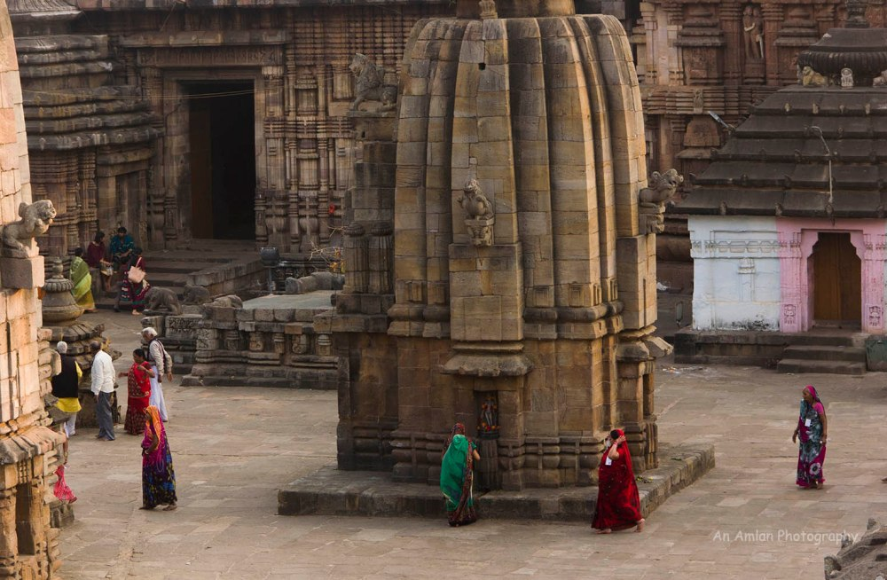 Pilgrims in Lingaraj Temple