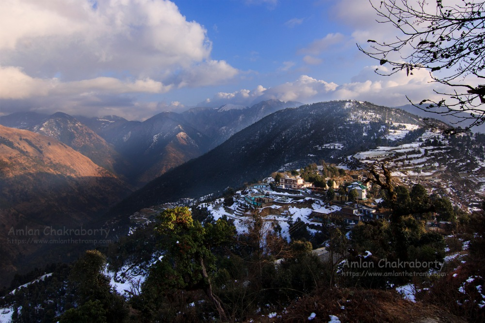 lohajung village top view