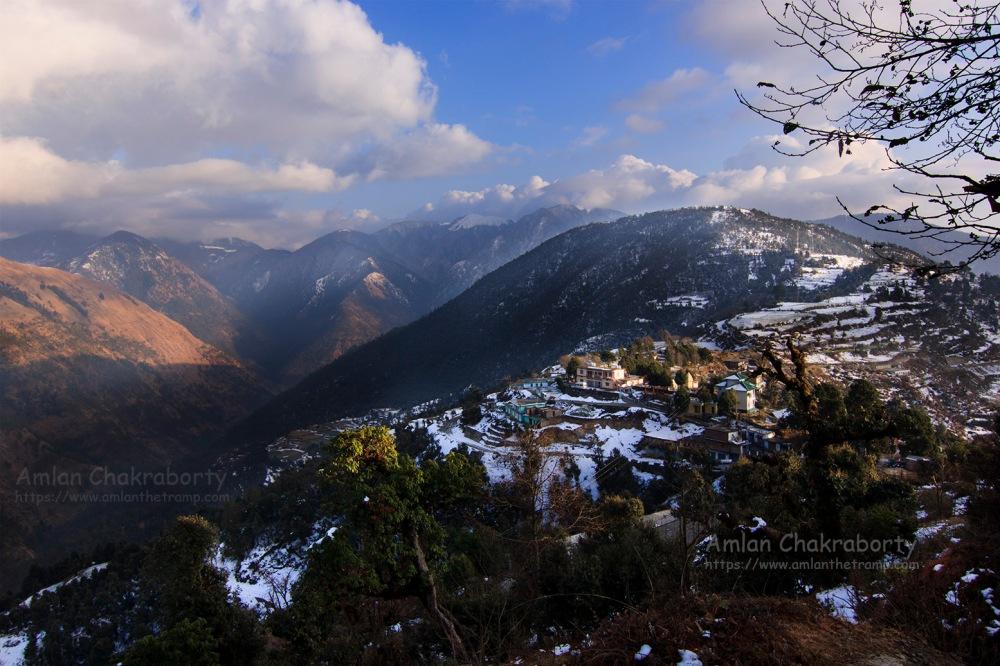 lohajung village top view