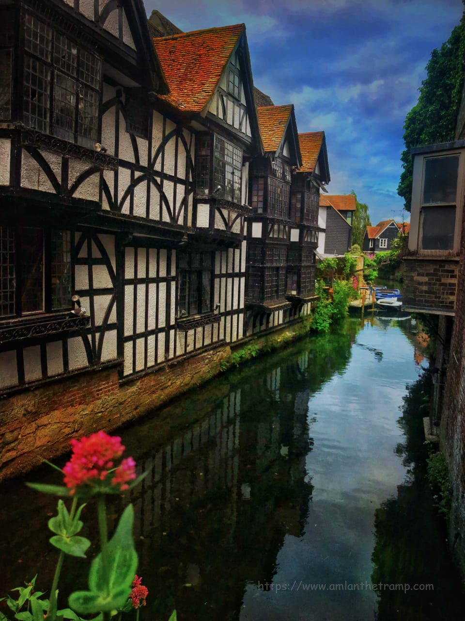 canal as seen from Canterbury Historic River Tours